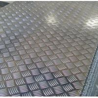 Wholesale Roll Aluminium Floor Plate 2mm Thick , Aluminum Tread Plate Embosssed Sheet from china suppliers