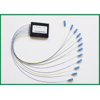 Wholesale 1x2 4 IN 1 SM Splitter Single Mode Fiber Coupler , Wideband 1550nm from china suppliers