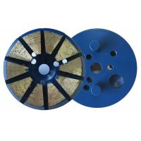 "Wholesale 3"" Inch 10 Diamond 8mm(H)Segments Metal Bond Diamond Grinding Discs for Concrete Polishing from china suppliers"