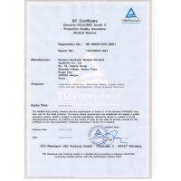 JIANGSU NEW ERA INDUSTRIAL&TRADE CORP Certifications