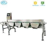 China High speed Dynamic Automatic Online Weight Check Machine With High Accuracy Rejection System on sale