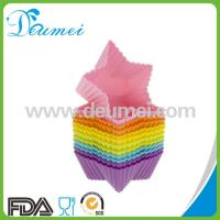 Wholesale Star Shape Mini Cupcake Silicone Baking Mold/Candy Mould from china suppliers