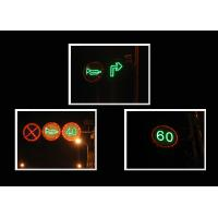 Wholesale Waterproof Closed Warning Solar Traffic Signs 1HZ LED Flashing Signs from china suppliers