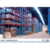 Wholesale Selective Drive In Pallet Rack Powder Coated Finish 1350mm - 3900mm Width from china suppliers