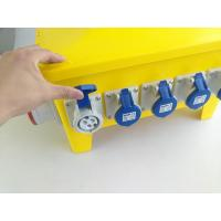 Light Three Phase Distribution Box , Over Current Protection Electrical Spider Box