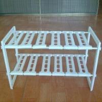 Wholesale Adjustable Plastic Shelf, Durable, Stackable and Expandable from china suppliers