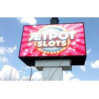 Quality Outdoor  Full color led screen board P6 with smooth display effect and Large viewing angle for sale