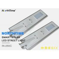 Wholesale Portable Solar LED Street Light High Lumen Efficacy 50W Integrated Lamp from china suppliers