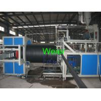 Wholesale Hollow Wall Steel Winding HDPE Pipe Extrusion Line For Large Diameter Pipe from china suppliers