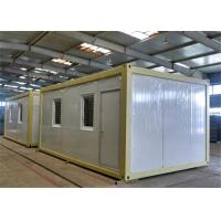 Wholesale Mobile Demountable steel framed homes As Guardroom from china suppliers