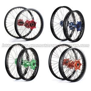 Wholesale 18 19 21 Inch 7116 – 1 Aluminum Alloy 36 Spoke Motorcycle Wheel Honda Kawasaki Suzuki from china suppliers
