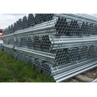 Wholesale Galvanized Circle Hollow Section carbon steel tube / Hot Rolled Round Steel Tube for Construction from china suppliers