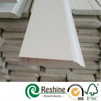 Quality White primer coated pine and fir wood baseboard architrave mouldings for sale