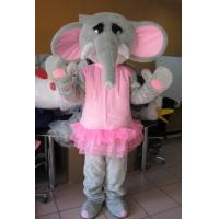 Wholesale Custom Cartoon Character elephant mascot costumes with Good ventilation from china suppliers