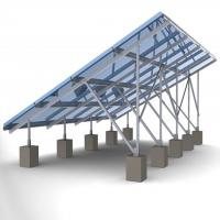 60m/s Solar Panel Ground Mounting Systems For Photovoltaic PV Array SGS Approved