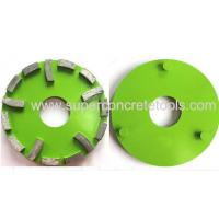 Buy cheap 240mm 5 Bars Floor Metal Grinding Diamond Disc Plate Concrete Tools For Klindex from wholesalers