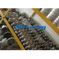 Wholesale ASME / ANSI B16.9 SAF2205 / 2507 400LB Flanges Pipe Fittings , Duplex Steel Cap Pipe Fitting from china suppliers