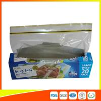 Wholesale Snap Seal Reusable Sandwich Bags For Coles Supermarket Large Size 35*27cm from china suppliers