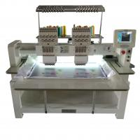 Wholesale Cap Automatic Double Head Embroidery Machine , T Shirt Embroidery Machine from china suppliers