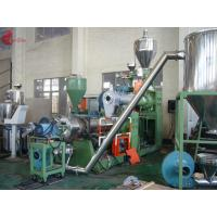 Wholesale 185 KW Two Stage PVC Plastic Pelletizing Line 60rpm , Pellet Maker Machine from china suppliers