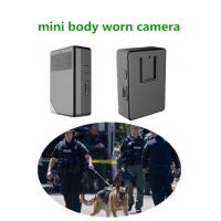 Buy cheap Super HD Night Vision Police Body Worn Camera With Built In Gps Wifi And Auto Infrared LED from wholesalers