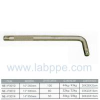 "Wholesale F3010-Phosphating curved rod L-TYPE HANDLE 1/2"" X 10""CRV L Type Wrench Handle rod Embossed from china suppliers"