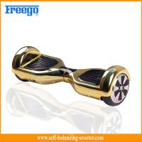 Wholesale Dual Wheel Off Road Electric Scooter 36V 4.4AH Gold Long Distance from china suppliers