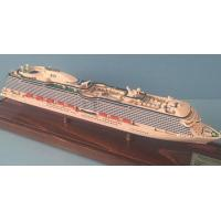 Wholesale Custom Handcrafted Model Ships With Regal Princess Cruise Ship Series from china suppliers