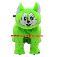 Wholesale Indoor Amusement Fun Park Animal Motorized Plush Kids Toy Zippy Rides from china suppliers