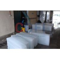 Quality Customized Block Ice Maker Machine 1 Ton - 100 Ton Refrigerant R404a / R22 for sale