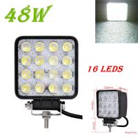 Wholesale 1PCS 48W 4800LM IP65 LED Work Light for Indicators Motorcycle Driving Offroad Boat Car Tractor Truck 4x4 SUV ATV Flood from china suppliers
