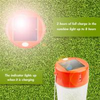 Quality Portable Solar Lamp with electronic rotary switch for family garage or camp for sale
