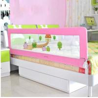 Wholesale Pink Portable Bed Rails For Babies , Foldable Kids Bed Rail from china suppliers