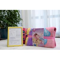 Wholesale Coral Fleece Mat / Throw / Pillow Set Luxury Home Textiles Disney Fabric Art from china suppliers