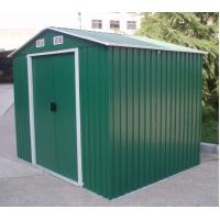 Wholesale 12x10 Outdoor Waterproof Medium Apex Metal Tool Shed Kits With Galvanized Color Steel from china suppliers