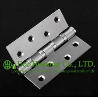 Wholesale Brushed Finished 304 stainless steel Hinges for timber doors,ball bearing hinges, no noise from china suppliers
