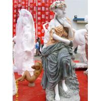 Wholesale Marble colored girl statues flowers from china suppliers