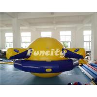 Quality Planet Saturn Shape Inflatable Water Toys Floating For Water Park Playing for sale