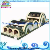 Wholesale Amazing giant inflatable games china/ inflatable game/ slide bouncer combo from china suppliers