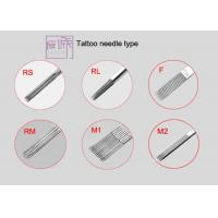 Wholesale 304L Stainless Steel 1RL Pre-made Sterile On Bar / Round Liner Tattoo Machine Needles from china suppliers