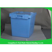 Wholesale New PP Plastic Attached Lid Containers Logistic Space Saving Easy Transportation from china suppliers