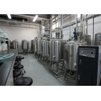 Wholesale UHT Milk Processing Plant With Pillow Pouch Packages 1000LPH For Flavor Milk from china suppliers