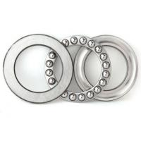Wholesale Thrust ball bearings 51200 with two chrome steel washers and a bronze ball complement from china suppliers