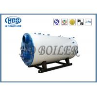 Wholesale Industrial Steam Hot Water Boiler Oil / Gas Multi Fuel Horizontal Fully Automatic from china suppliers