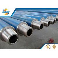 Low Carbon Stainless Steel Drilling String Non Magnetic Drill Collar For Oilfield