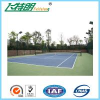 Wholesale 4mm Thickness Rubber PU Sports Flooring For Volleyball Court / Tennis Court from china suppliers