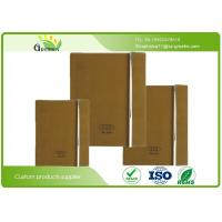 Wholesale 70G / 80G / 90G Custom Embossed Notebook with Recycled Paper Inner Material from china suppliers