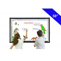 "Wholesale 58"" Digital Touch Screen Interactive Whiteboard In The Classroom USB Cable Power Supply from china suppliers"