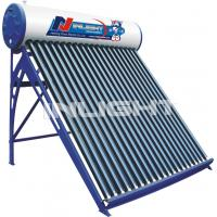 Wholesale 250L galvanized steel low pressure vacuum tube solar water heater from china suppliers