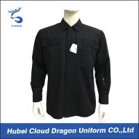 Wholesale Black Custom Military Tactical Winter Jacket For Training , Embroidered Logo from china suppliers